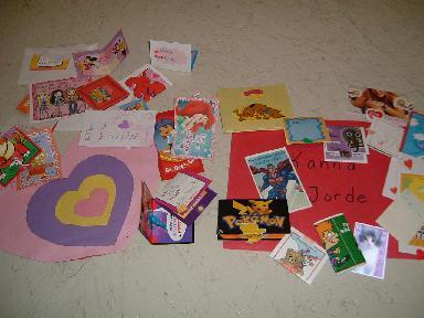バレンタインカード2007