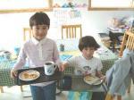 母の日の朝ご飯
