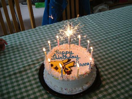2008カンナ誕生日ケーキ