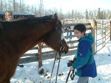 カンナと馬02232008
