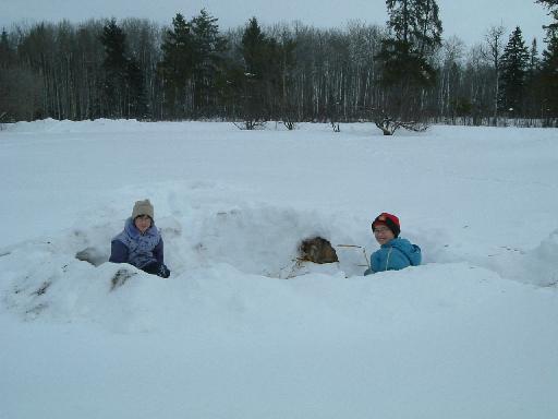 子供雪遊び012720081