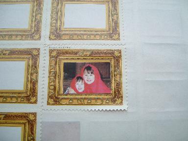 切手 赤ずきん