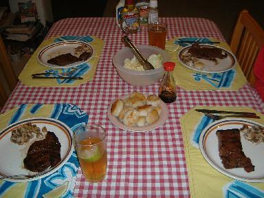 夕食10072007