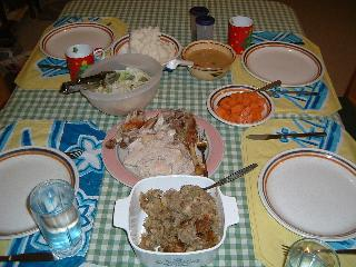 感謝祭食事