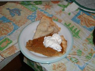 感謝祭デザート
