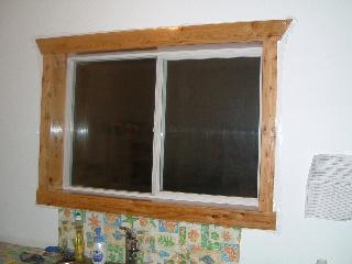 流しの前の窓