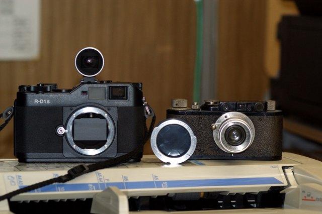RD-1とアダプター