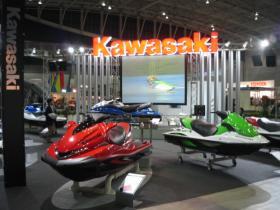 Kawasakiブース