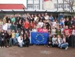 ドイツ 生徒との集合写真