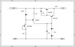 LED電源+インバーテッドダーリントン