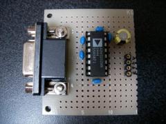 RS-232C変換モジュール