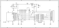 SDカード・アダプタ 回路図