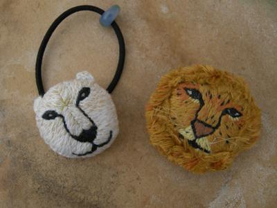くま&ライオン
