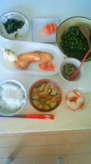 本日の朝食&昼食