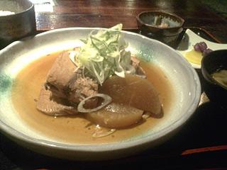 煮魚(ブリ大根)膳