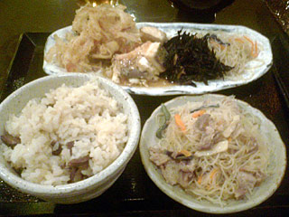 おひつ飯とおばん菜ブッフェ