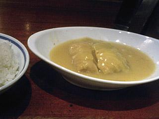 ロールキャベツシチュー定食