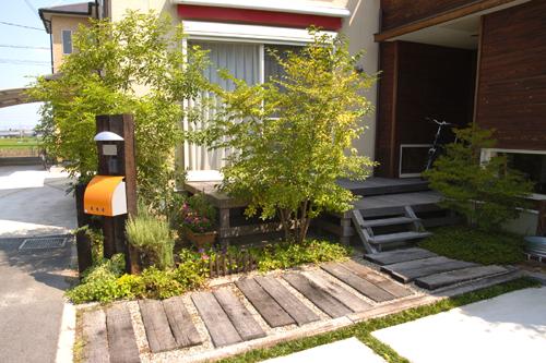 庭の提案1
