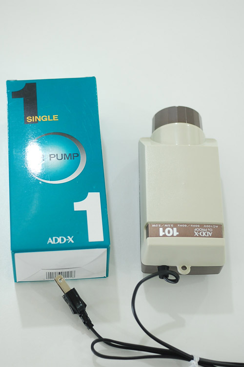 ADD-X 101 (アデックス101)エアーポンプ