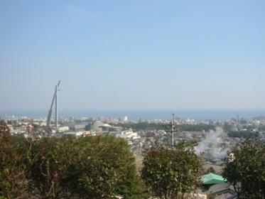 観海寺温泉いちのいで眺望