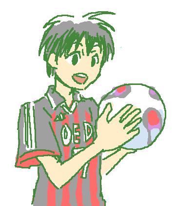 ボールと椿