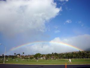 マウイの虹
