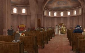 サンマルコ大聖堂にて