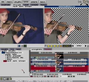 t@b ZS4 Video Compositing Softwareスクリーンショット