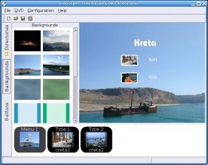 DVDStylerスクリーンショット
