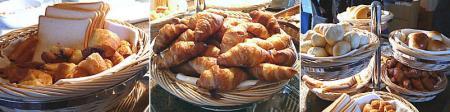 アビエントの朝食バイキング