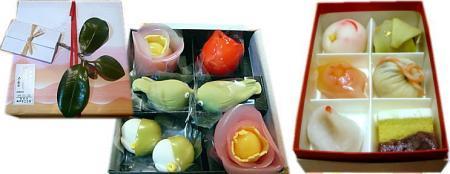 たねやの迎春和菓子