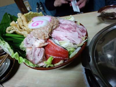相撲料理大鷲ちゃんこ鍋