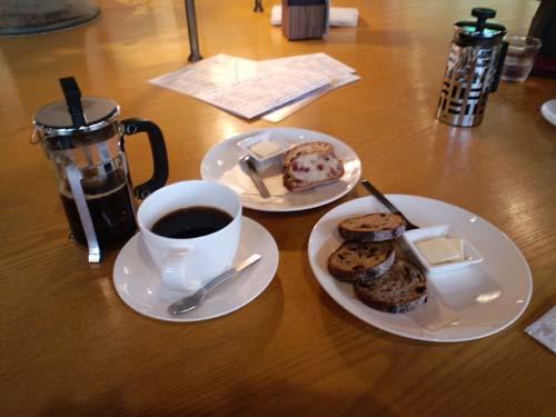 丸山珈琲コーヒーとパン