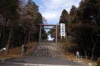常磐神社正門
