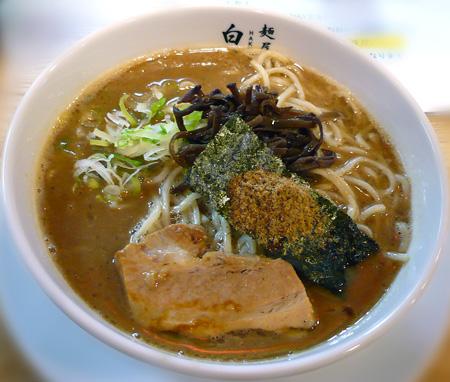 豚にぼ太麺