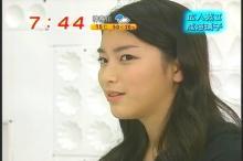 成海璃子 めざましテレビ(2)
