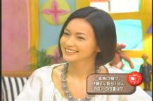 長谷川京子 王様のブランチ(1)