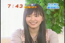 新垣結衣 めざましテレビ(1)