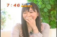 新垣結衣 めざましテレビ(2)