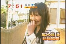 新垣結衣 めざましテレビ(9)