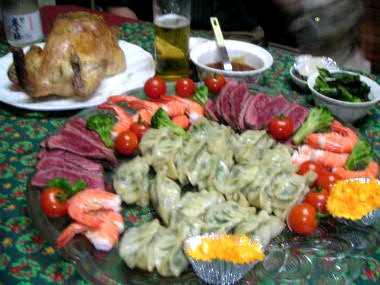2006クリスマス料理