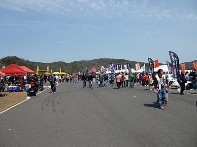 岡山国際サーキットイベント広場