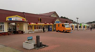 米子自動車道の蒜山高原サービスエリア