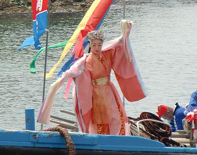 乙姫様の大量祈願の舞