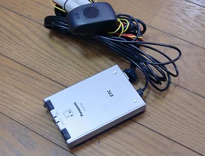 Panasonic製ETC CY-ET700D音声式(セパレートタイプ)