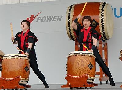 小早川水軍太鼓-迫力の鼓動
