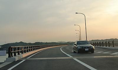 新しく出来た橋