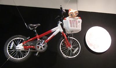 E.T.でエリオット君の愛車であるKUWAHARAのBMX