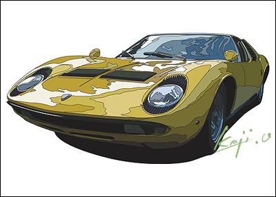 ランボルギーニ ミウラP400S