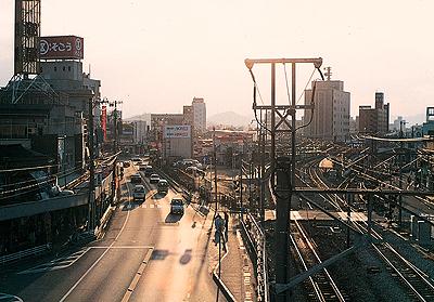 約20年前の尾道駅前風景